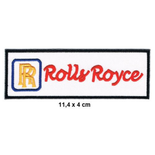 ROLLS ROYCE Patch Sew Iron on Embroidered