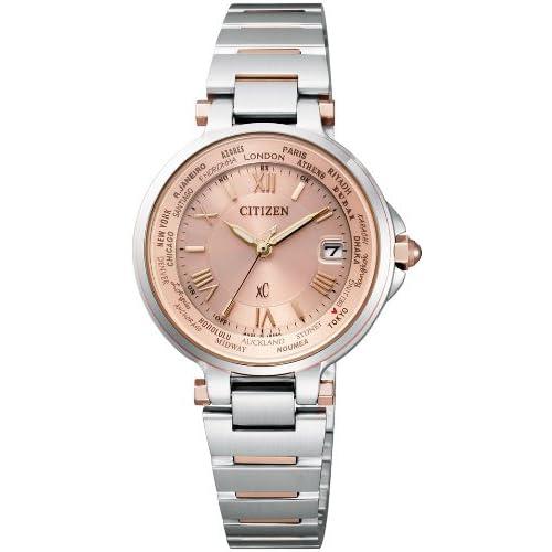 [シチズン]CITIZEN 腕時計 xC クロスシー HAPPY FLIGT ハッピーフライト Eco-Drive エコ・ドライブ 電波時計  EC1014-65W レディース