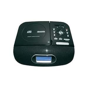 Reflexion HRA5000 Radio-CD-Horloge rétro avec connectique USB / SD et fonction de conversion de musique