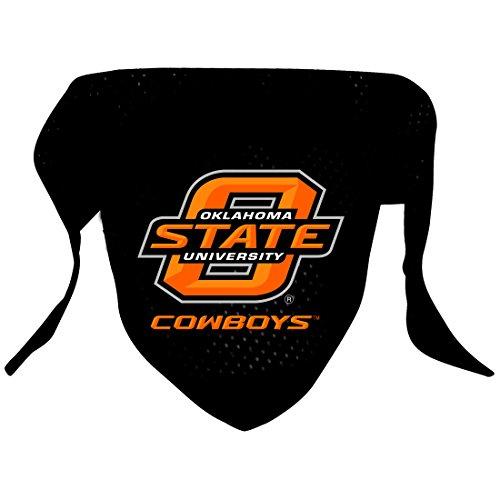 Ncaa Oklahoma State Cowboys Pet Bandana, Team Color, Small front-967626
