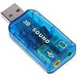 Adaptateur USB5.1 carte son compatible Windows 7
