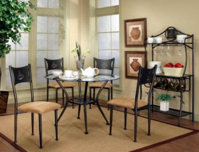 Cheap Cramco Maxwell Glass Top Dining Table (72454-41, 72454-47)