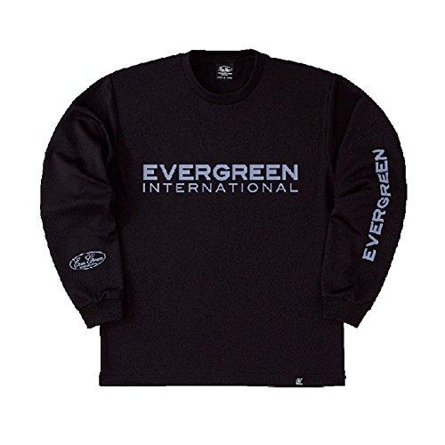 エバーグリーン(EVERGREEN) E・G ドライロングTシャツ Dタイプ ブラック Lの商品画像