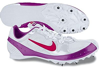 Nike Zoom Rival MD 5 Mid Distance Track Spike White/Plum/Red Size 6