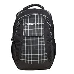 Wildcraft Slide Black Casual Backpack (8903338011354)