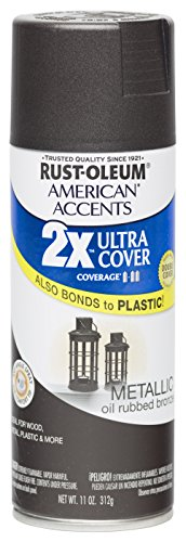 rust-oleum-280685-american-accents-ultra-cover-2x-spray-paint-oil-rubbed-bronze-11-ounce