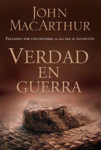 Portada del libro Verdad en guerra de John F. MacArthur