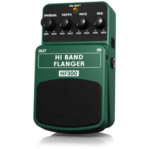 Behringer Hf300 Hi Band Flanger Ultimate High-Band Flanger Effects Pedal