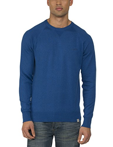 Bench Prank-Felpa Uomo    Blue (Bright Blue Marl) Small