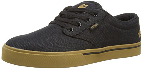 Etnies Men's Jameson 2 Eco Skateboard Shoe, Black/Brown/Green, 11 M US