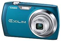 Casio Exilim EX-Z350 Digitalkamera (12 Megapixel, 4-fach opt. Zoom, 6,85 cm (2,7 Zoll) Display, bildstabilisiert) blau