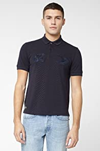 L!VE Short Sleeve Roaring Croc Pique Polo