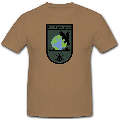 Boardingkompanie-Bundeswehr-Marine-SEK-M-Deutschland-Militr-Wappen-Abzeichen-T-Shirt-Herren-khaki-12596