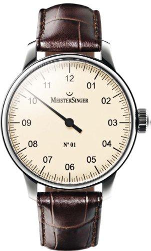 Meister Singer No 01 Reloj elegante para hombres Diseño Clásico
