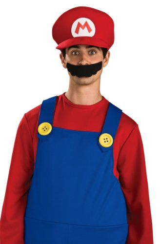 Mario Hat Only Adult Mario Brothers Costume Hat 49763