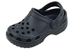 New Toddler\'s Black Garden Shoes Clog Sandals Size 7