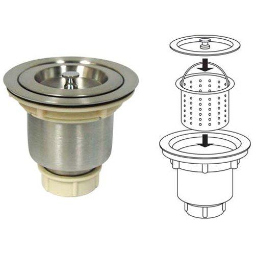Stainless Steel Premium Kitchen Sink Drain/Strainer Basket Standard 3.5