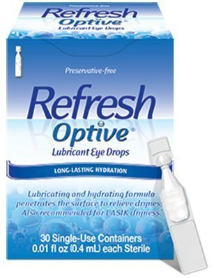 Refresh Optive Sensitive Preservative-free Lubricant Eye Drops 30 Ea (Pack of 3) (Refresh Optive Preservative Free compare prices)