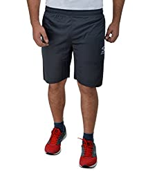 Surly Dark Grey Plain DK-1 Polyester Shorts