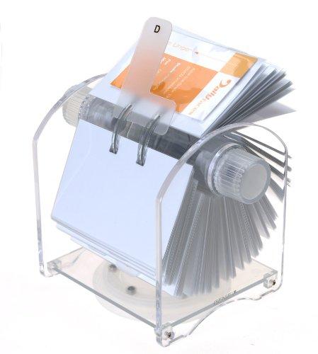 genie-rotator-fichier-rotatif-pour-400-cartes-de-visites-avec-24-parties-registre-et-200-pochettes-t