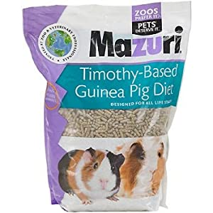 Mazuri Timothy-Based Guinea Pig Food, 5 lbs.