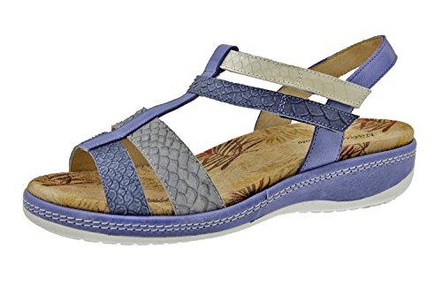Scarpe donna comfort pelle Piesanto 6907 sandali soletta estraibile comfort larghezza speciale