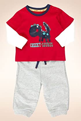 2 Piece Pure Cotton T-Shirt & Joggers Outfit [T78-7738D-Z]