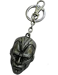Techpro Premium Quality Metal Lock Keychain With Avengers Ultron Design