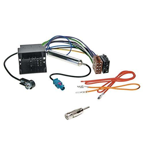 VW-Polo-4-9N9N3-01-09-2-DIN-Autoradio-Einbauset-inkl-Kabel-Adapter