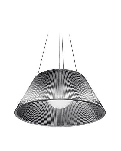 Flos Lámpara De Suspensión Romeo Moon S2 Cristal 50 x 22.5 x 422.5 cm