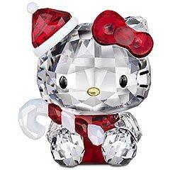 スワロフスキー SWAROVSKI クリスタル フィギュア Hello Kitty Santa (ハローキティ サンタ) Hello Kitty COLLECTION 1142935 「並行輸入品」