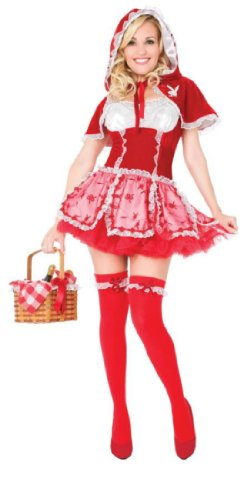 Playboy Little Red Vixen Md Adult Womens Costume