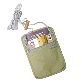 Tapp C. Travel Neck Pouch - Sand