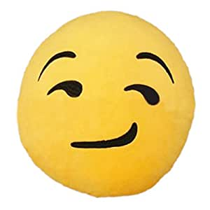 Amazon.com: TOOGOO(R) Hot new Emoji Show Off Emoticon Round Cushion