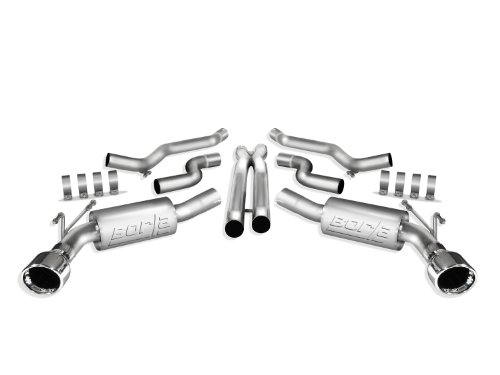 Borla 140356 ATAK Stainless Steel Aggressive Cat-Back Exhaust System (2012 Camaro Exhaust compare prices)