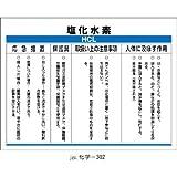 化学物質標識 化学-302