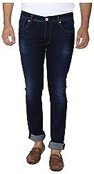 EASIES Men's Slim Fit Jeans (1089 BNDFT DKINDG_30, Blue, 30)