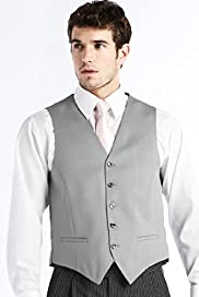 Pure Wool 5 Button Waistcoat
