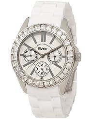 Esprit Dolce Vita Plastic White Analog Silver Dial Women's Watch ES105172006