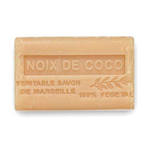 (南仏産マルセイユソープ)SAVON de Marseille ココナッツの香り(SP022)(125g)