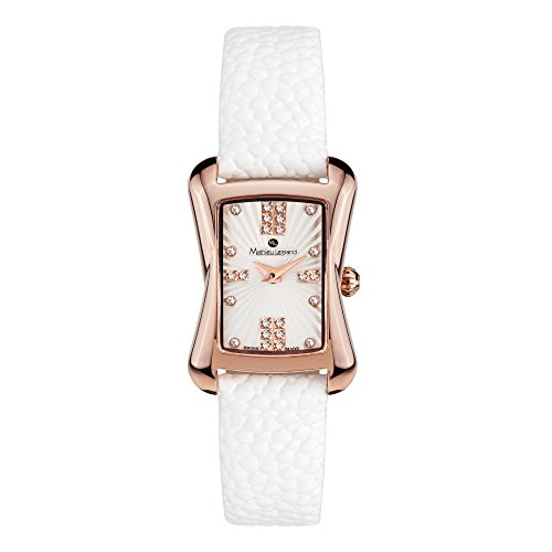 Mathieu Legrand Montre Femme Papillon Or rosé IP argent MLG-2001A