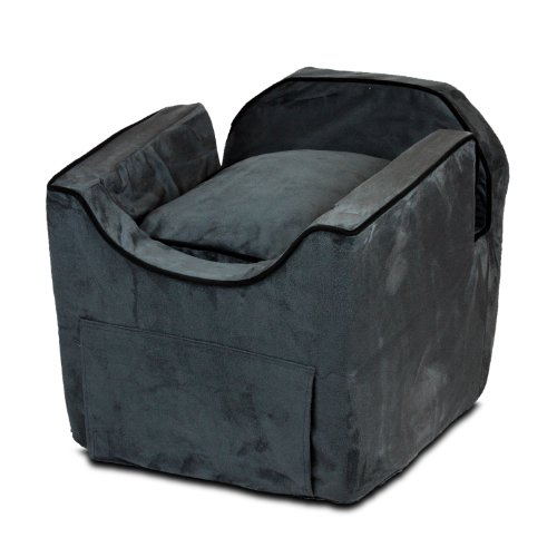 Snoozer Luxury Ii Lookout Pet Car Seat, Small, Anthracite With Black front-870158