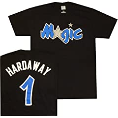 Orlando Magic Anfernee Penny Hardaway Throwback Majestic T Shirt by Majestic VF