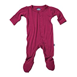 KicKee Pants Footie in Orchid, 4T