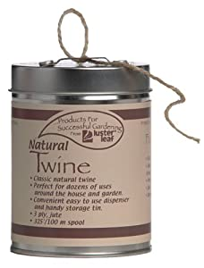 Luster Leaf Rapiclip Natural Twine in Dispenser Can - 325 Foot 402