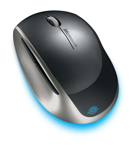 Microsoft Explorer Mini Mouse ダーク シルバー 5BA-00017