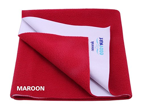 Newnik Reusable Absorbent Sheets / Underpads Children: S Maroon - 1