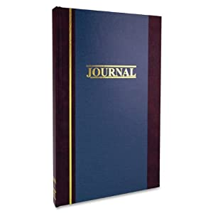 Wilson Jones S300 Line Accounting Journal, Single Entry Ledger, 11.75 x 7.25 Inches, 150 Pages (WS300-15SELA)