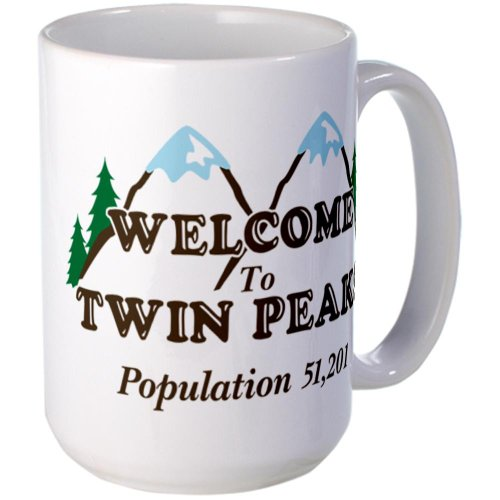 Cafepress Welcome To Twin Peaks Mug Large Mug - Standard Multi-Color