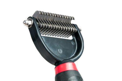 Bild von: TrendPet Unterwollstriegel 15 Zähne - Universal Unterwollbürste
